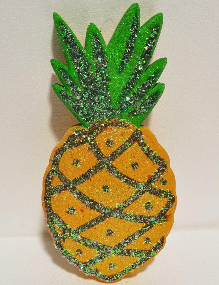 ananas decorazione per vetrine negozi periodo estate