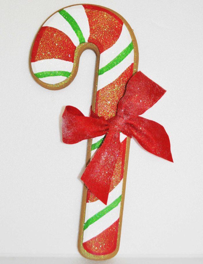 Candy Cane chiaro altezza 55cm allestimento natale negozi vetrine