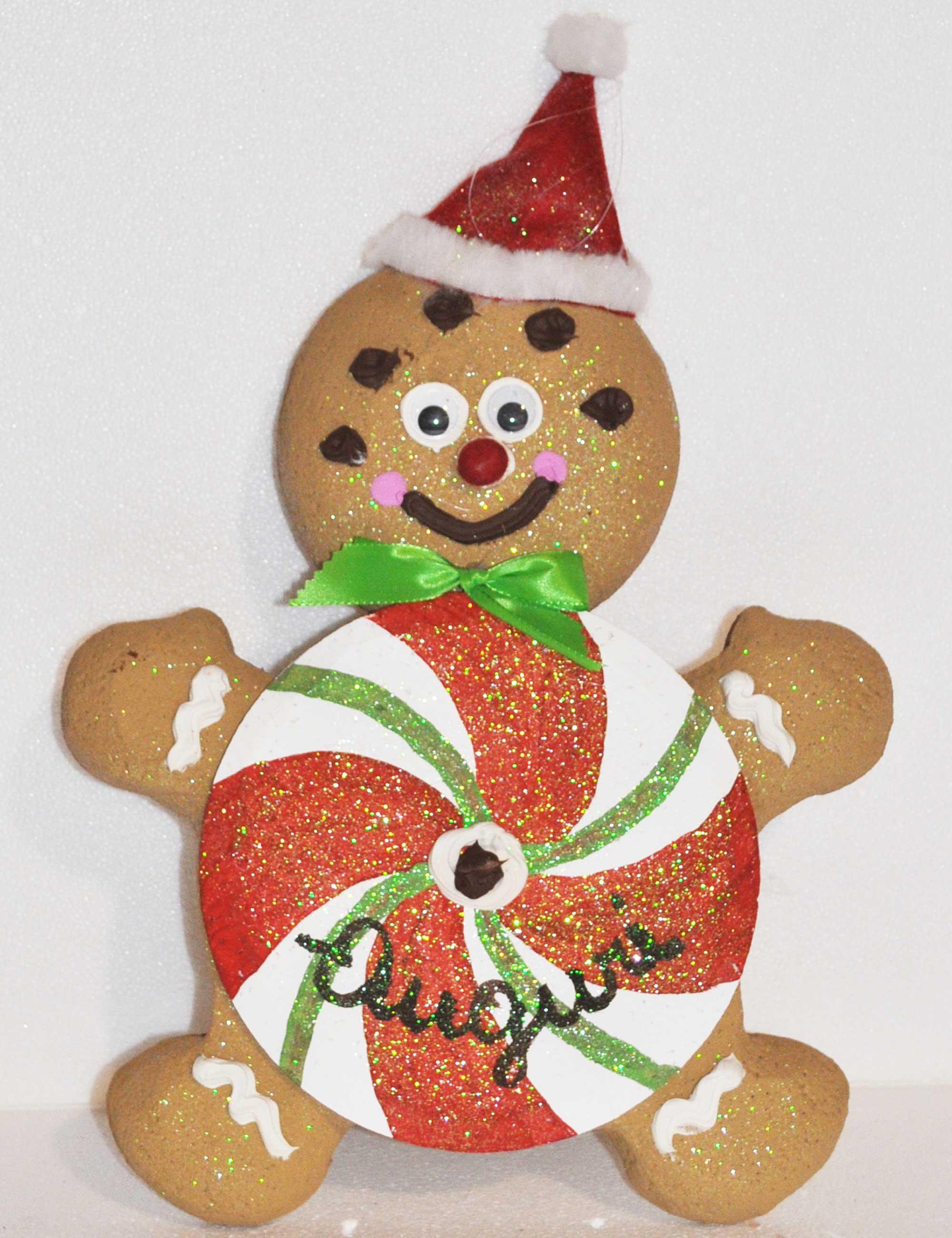 Ginger Lolly Maschio altezza 40cm decorazione natalizia negozi e vetrine
