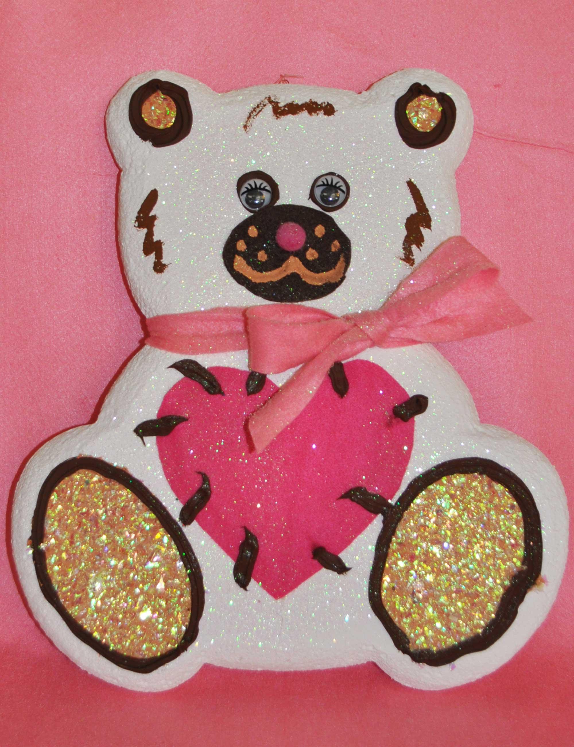 orsetto femmina bianco decorazione feste bambini