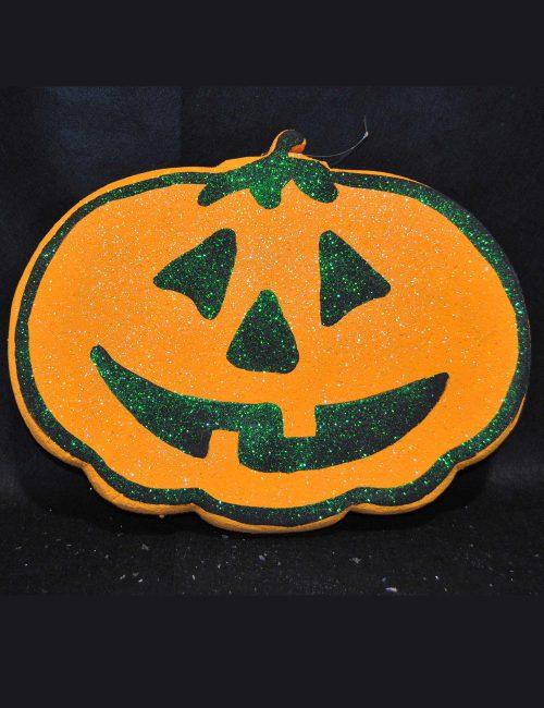 zucca halloween decorazione vetrine negozi